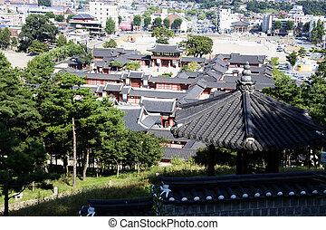 Traditional architecture in south korea,Suwoncastle
