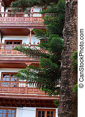 Traditional architecture in Tenerife.