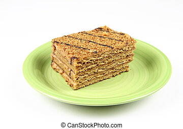 Armenian honey cake