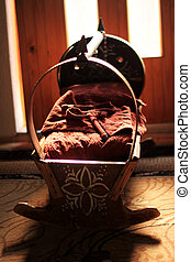traditional baby chair