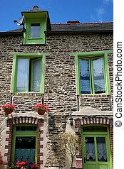 Traditional breton houses