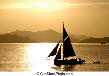Traditional British Sea Ship - Traditional British sea ship...