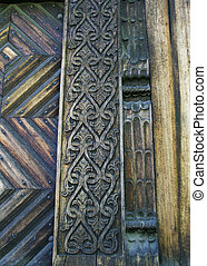 Traditional Carving Detail - Carving Detail on an old...
