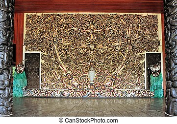 Traditional carving on Maluku islands, Indonesia - A ...