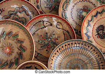 Traditional ceramics - Traditional old hand painted ceramics