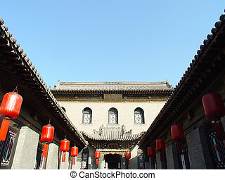 Traditional Chinese ancient building