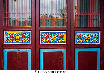 Traditional Chinese Building Doors
