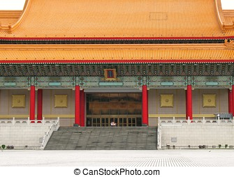 Traditional Chinese Building in Taipei