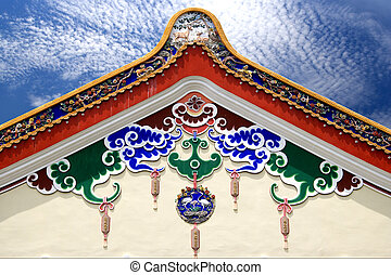 Traditional Chinese Building Roof