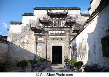 traditional Chinese gate