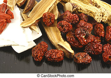 Traditional Chinese Herbs Combination of Spices for Healing...