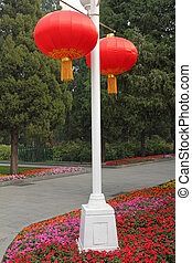 traditional chinese  lantern in Bei