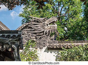 traditional Chinese symbol of the dragon