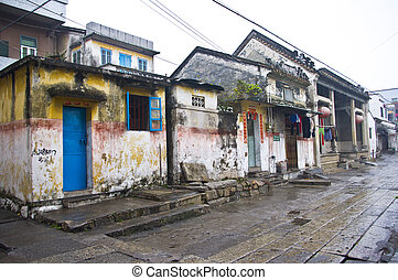 Traditional Chinese village in China