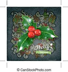 Traditional Christmas decoration