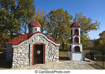 Traditional church at Greece