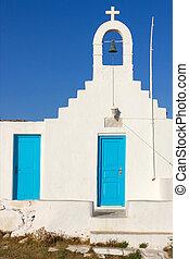 traditional church in Mykonos