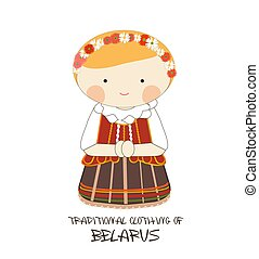 Traditional Clothing of Belarus, Europe