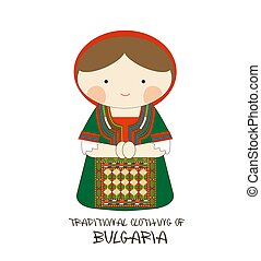 Traditional Clothing of Bulgaria, Europe