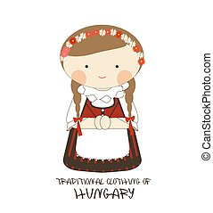 Traditional Clothing of Hungary, Europe