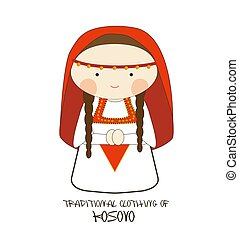 Traditional Clothing of Kosovo, Europe