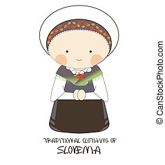 Traditional Clothing of Slovenia, Europe