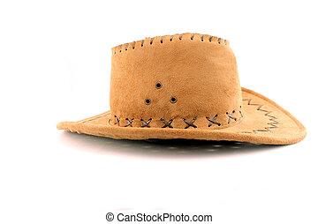 Traditional cowboy hat