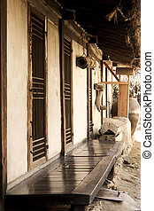 Traditional culture in south Korea, House