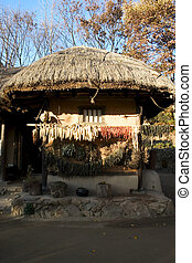 Traditional culture in south Korea,House