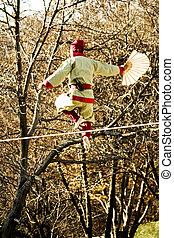 Traditional culture of Korea, tightrope