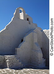 Traditional Cycladic architecture o