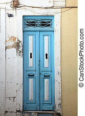 Traditional door from Sousse, Tunis