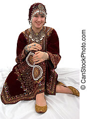 Traditional Dress - Ethnic girl wearing traditional clothing