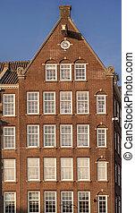 Traditional dutch building
