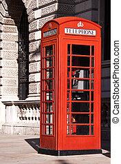 Traditional English Telephone box