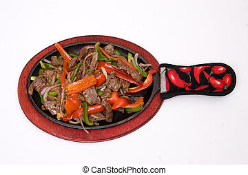 fajitas - traditional fajitas isolated