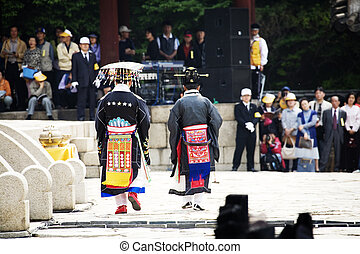 Traditional festivals in south korea,Jongmyo...