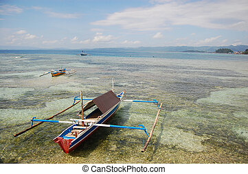 Traditional fishing boat Indonesia