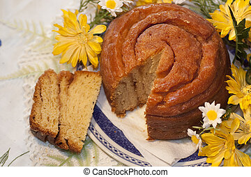 traditional folar cake