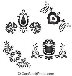 Traditional folk ornaments