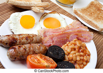 Traditional full english breakfast - Traditional english ...