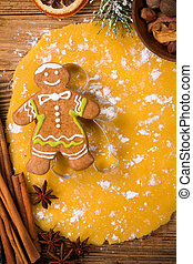 Traditional gingerbread