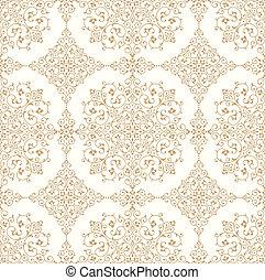 Traditional golden wallpaper