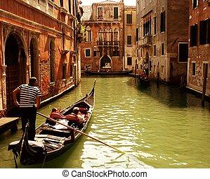 Traditional gondola ride