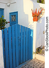 Traditional greek house