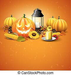 Traditional Halloween background