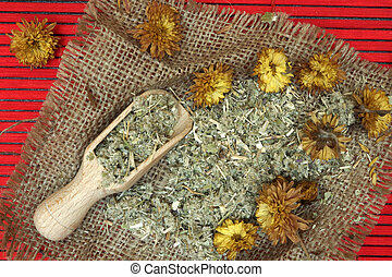 Herbs used in chinese theraphy