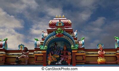 Traditional Hindu temple, India
