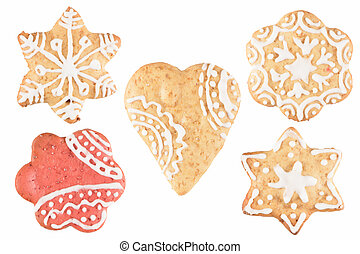 Christmas cookie ginger breads