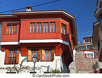 Traditional house in Greece